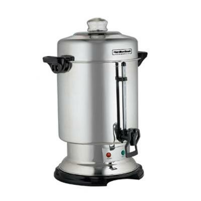 60 Cup Commercial Coffee Urn in Stainless Steel by Hamilton Beach