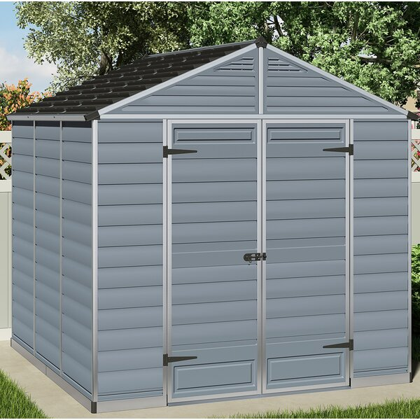 SkyLight™ 8 Ft. W x 8 Ft. D Storage Shed by Palram