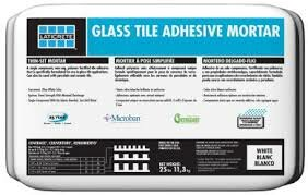 Glass Tile Adhesive Mortar 25 Lb by Laticrete