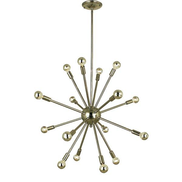 Frizzell 16 - Light Sputnik Sphere Chandelier by George Oliver George Oliver