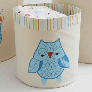 Find for Funny Friends Owl Toy Storage Bin By The Little Acorn