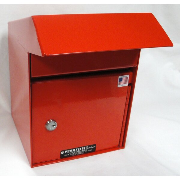 Front Load Key Lock Commercial Depository Safe by