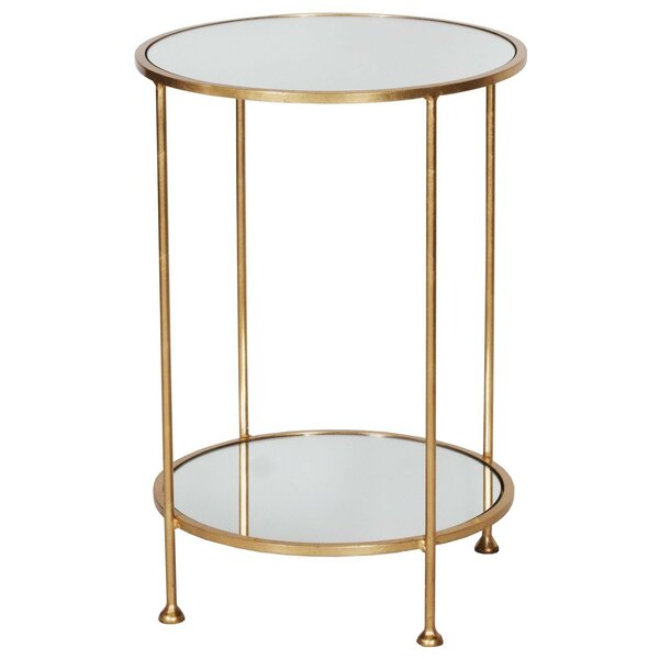 2 Tier End Table by Worlds Away Worlds Away