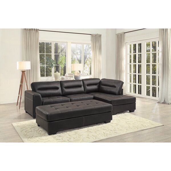 Emmalee Sectional by Ebern Designs