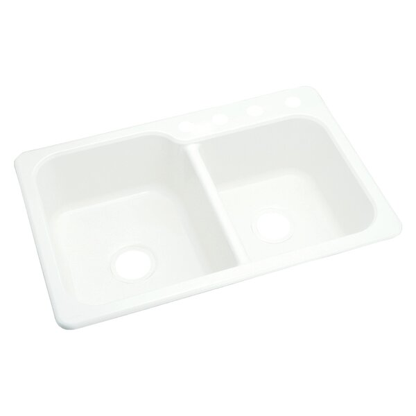 Maxeen 33 L x 22 W Double Bowl Kitchen Sink by Sterling by Kohler