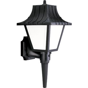 Affordable Price Fornear 1-Light Outdoor Sconce By Red Barrel Studio