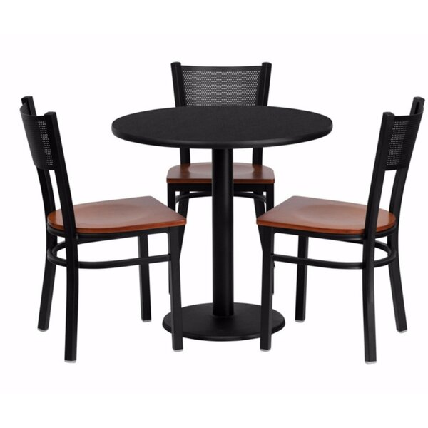 Maust Round Laminate 5 Piece Dining Set by Winston Porter