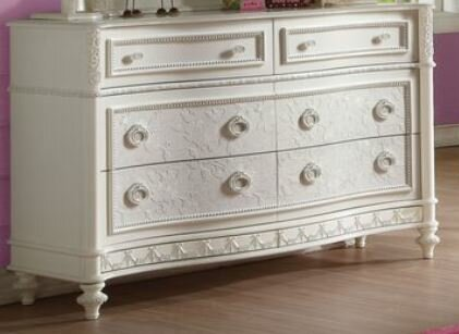 Ector 6 Drawer Double Dresser by Harriet Bee