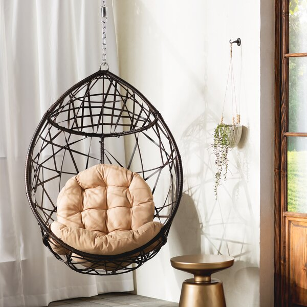 Destiny Tear Drop Swing Chair with Stand by Mistana