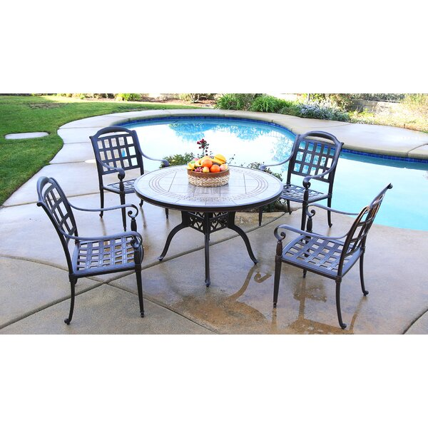 Feder 5 Piece Dining Set by August Grove