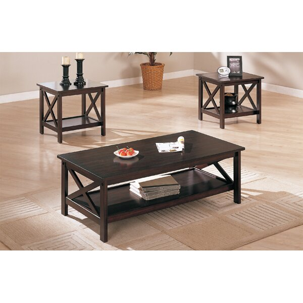 Ana 3 Piece Coffee Table Set by Red Barrel Studio