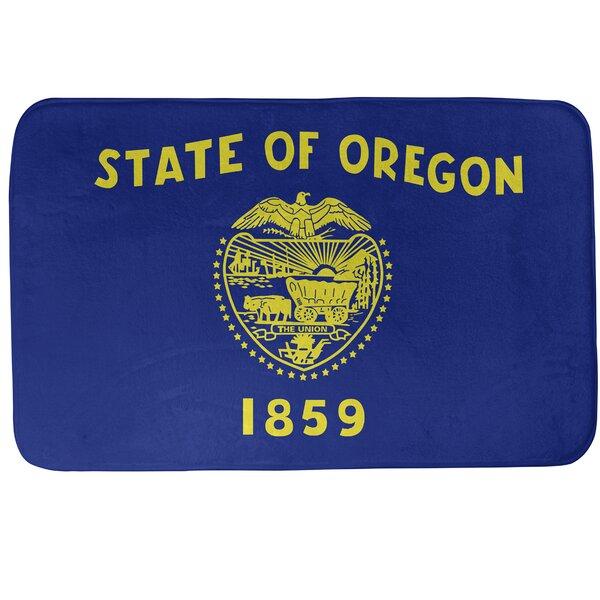 Fawcett Oregon Flag Bath Rug