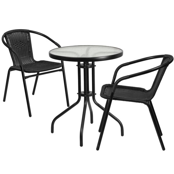 Whitney 3 Piece Bistro Set by Breakwater Bay