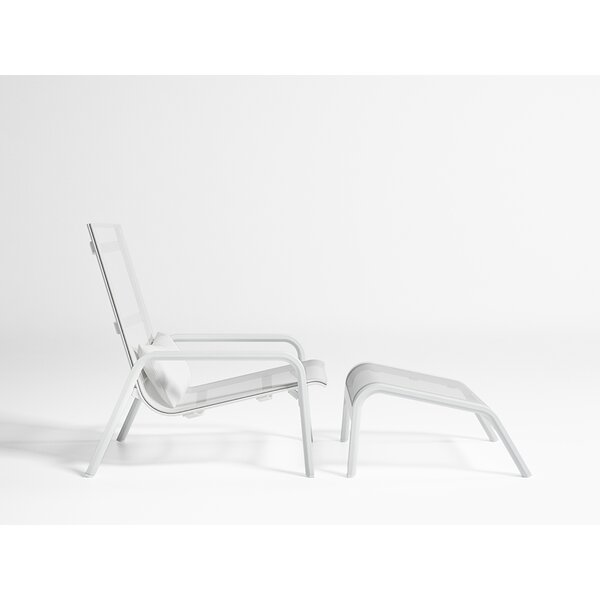 Stack High Back Patio Chair by Gandia Blasco