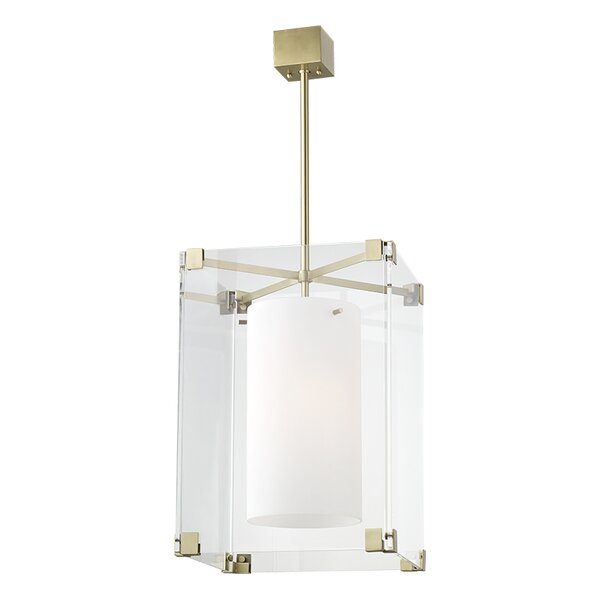 Tadley 3 - Light Lantern Rectangle Chandelier by Brayden Studio Brayden Studio