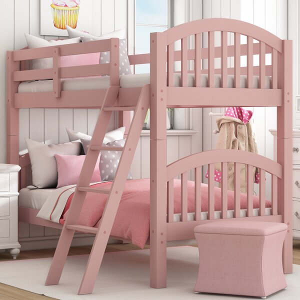 Susie Twin Over Twin Bunk Bed By Viv + Rae by Viv + Rae Comparison