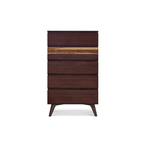 Azara Casegoods 5 Drawer Chest by Greenington