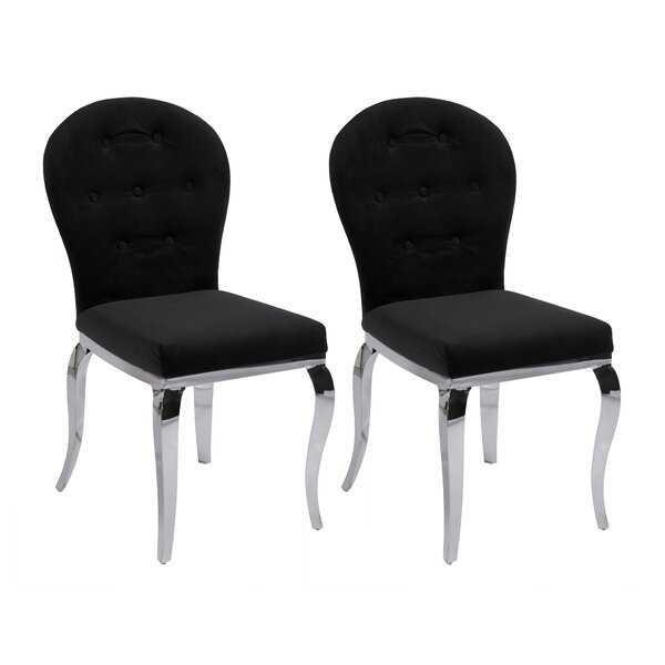 Teresa Side Chair (Set of 2) by Chintaly Imports