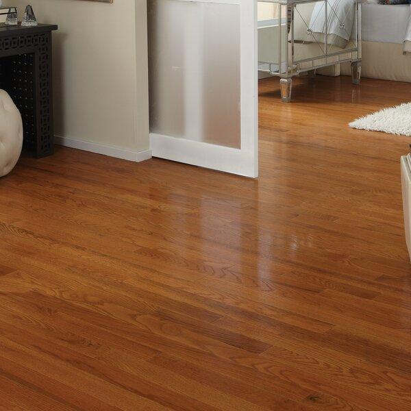 Classic 2-1/4 Solid Oak Hardwood Flooring in Butterscotch by Somerset Floors