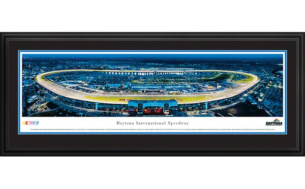 NASCAR Speedway Deluxe Framed Photographic Print by Blakeway Worldwide Panoramas, Inc
