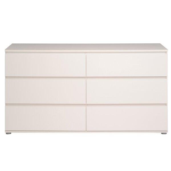 Norwell 6 Drawer Double Dresser by Zipcode Design