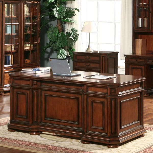 Sidell Executive Desk by Darby Home Co