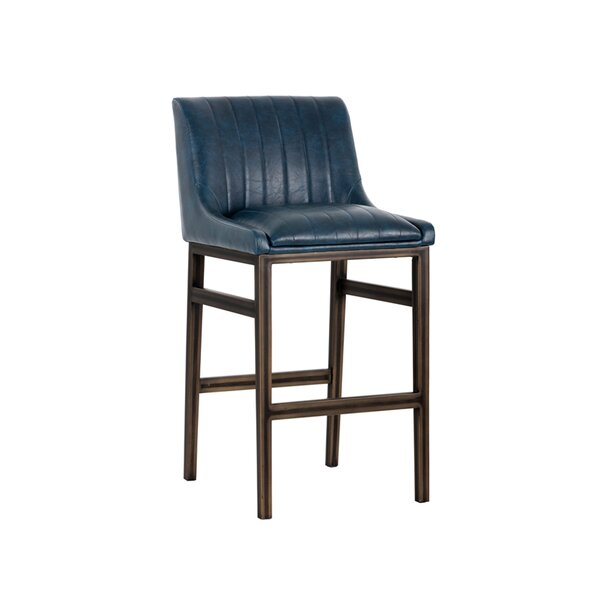Halden Armless 30 Bar Stool by Sunpan Modern