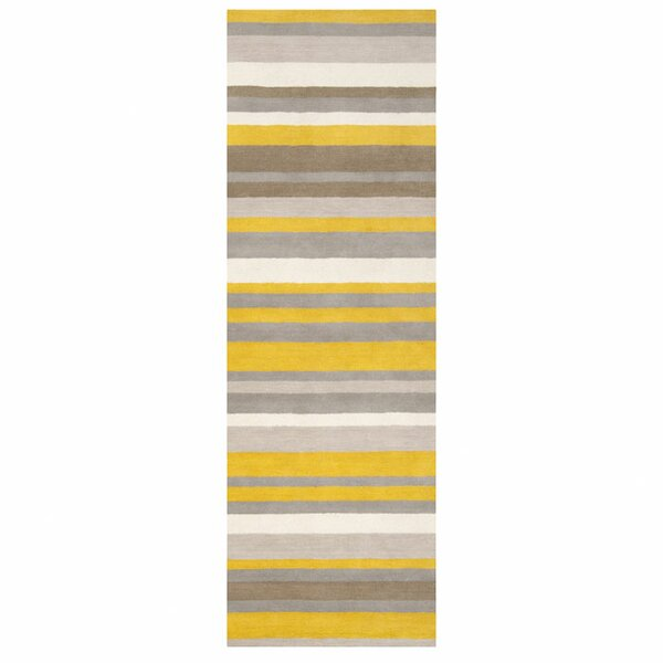 Stuart Hand-Loomed Grey/Brown Area Rug by angelo:HOME