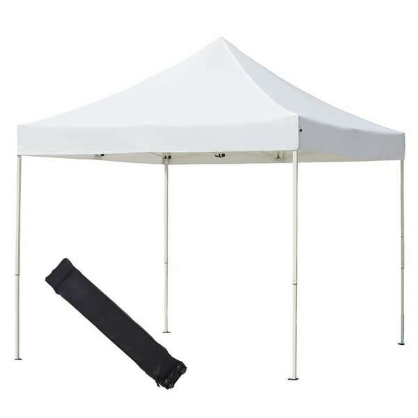 10 Ft. W x 10 Ft. D Steel Pop-Up Canopy by Abba Patio