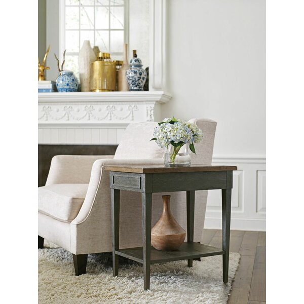 Gracie Oaks Rectangular End Tables