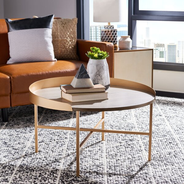 Martinelli 4 Legs Coffee Table By Everly Quinn