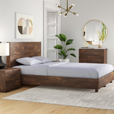 Foundstone Frank Platform Bed Bed Size: Queen
