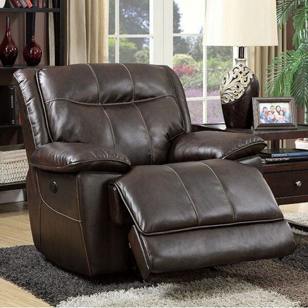Dolton Manual Rocker Recliner by Benzara