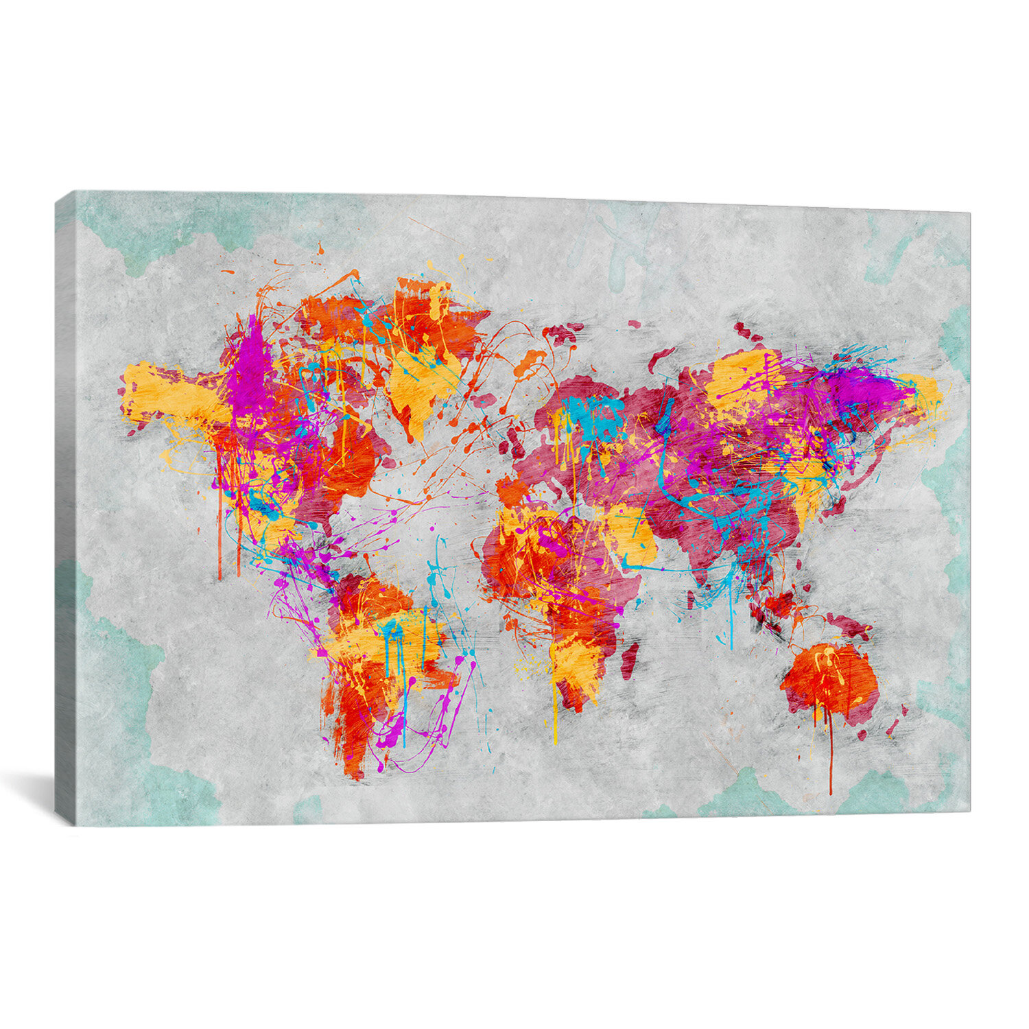 Icanvas Tpj1013mother Earth Crying By Maximilian San Graphic Art On Wrapped Canvas Wayfair