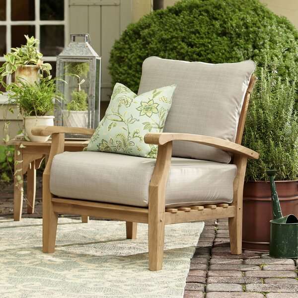 Summerton Teak Patio Chair by Birch Lane™