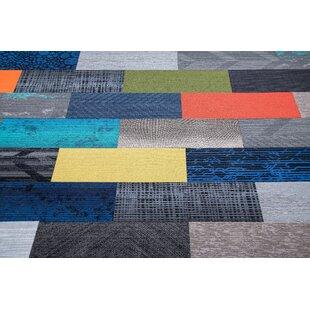 Diy 12 X 36 Level Cut And Loop Carpet Tile