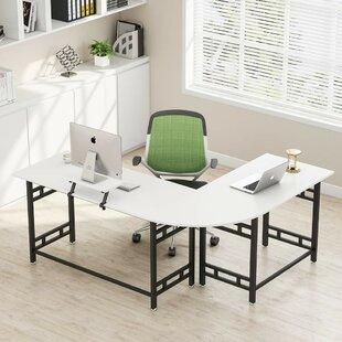 Holahan L-Shape Credenza desk