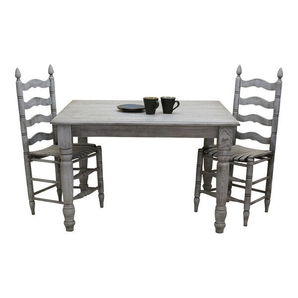 Benson Solid Wood Dining Table by August Grove
