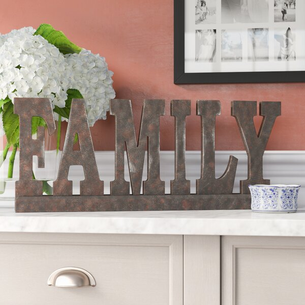 Dark brown Family Figurine by Three Posts