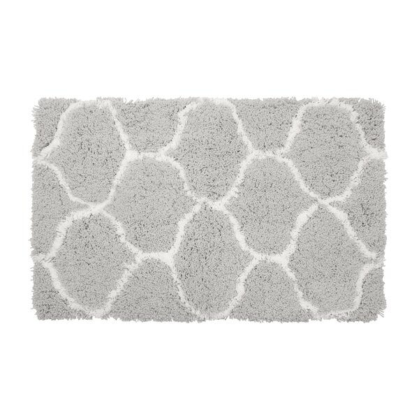 Alfred Chunky Shag White/Gray Area Rug by Vista Living