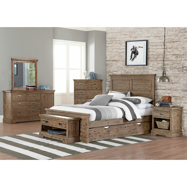 Bryon Panel Bed with Accessory by Viv + Rae