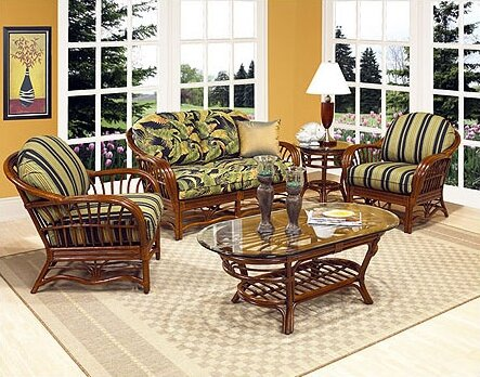 Amarillo Deep Seating Group with Cushions by Boca Rattan