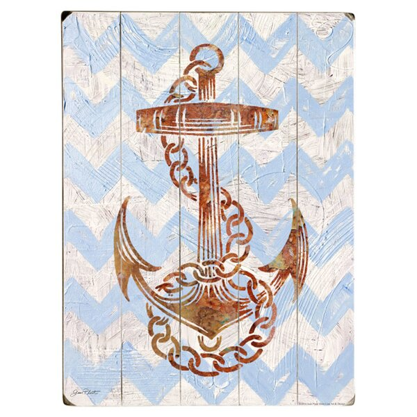 Anchors Aweigh Graphic Art Print Multi-Piece Image on Wood by Artehouse LLC