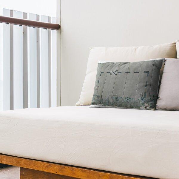 Cut It out Indoor / Outdoor Striped 14 Lumbar Pillow