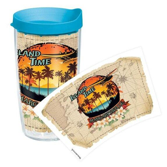Margaritaville Island Time Plastic Travel Tumbler by Tervis Tumbler