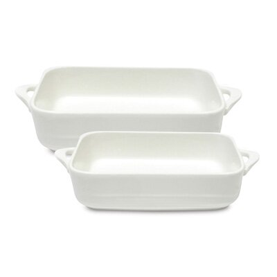 2 Piece Oven Chef Rectangular Baking Dish Set by Maxwell & Williams