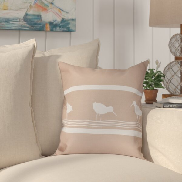 Hancock Birdwalk Animal Print Throw Pillow by Breakwater Bay