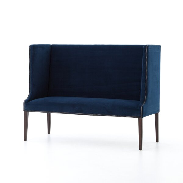 Stokes Highback Upholstered Bench by One Allium Way