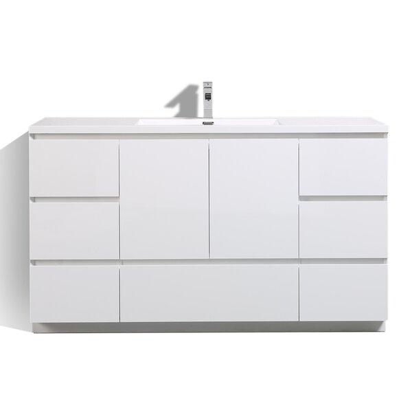 Riker Free Standing 59 Single Bathroom Vanity Set by Orren Ellis