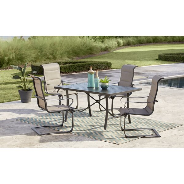 Coyle Tool-Free 5 Piece Dining Set by Red Barrel Studio